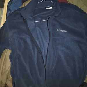 Navy Blue 2XLT Columbia Jacket